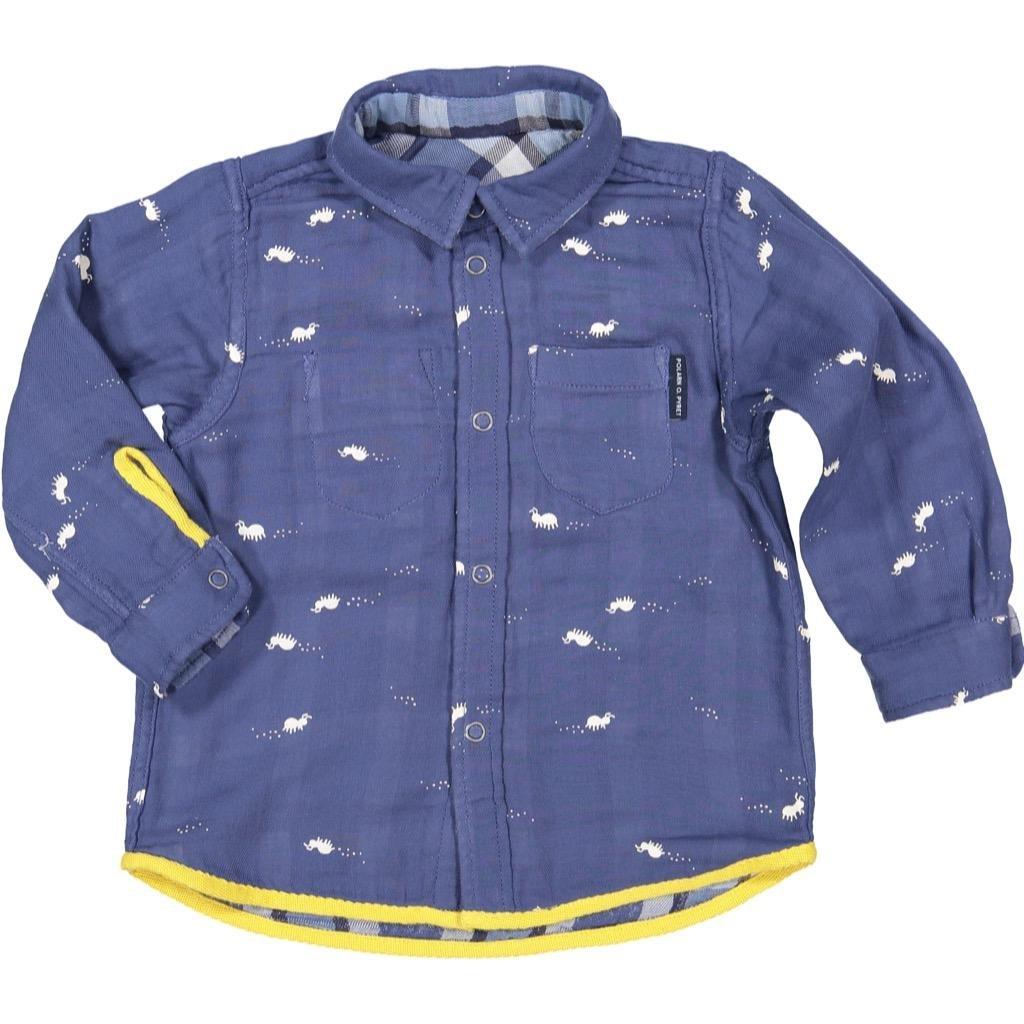 Polarn O. Pyret Reversible Button up (Baby)