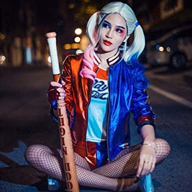 Amazon.com: Suicide Squad Deluxe Harley Quinn Costume ...