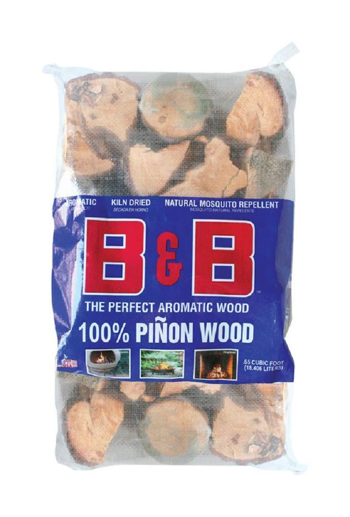 B & B Charcoal 00153 Pinon Firewood.65 Cubic Feet