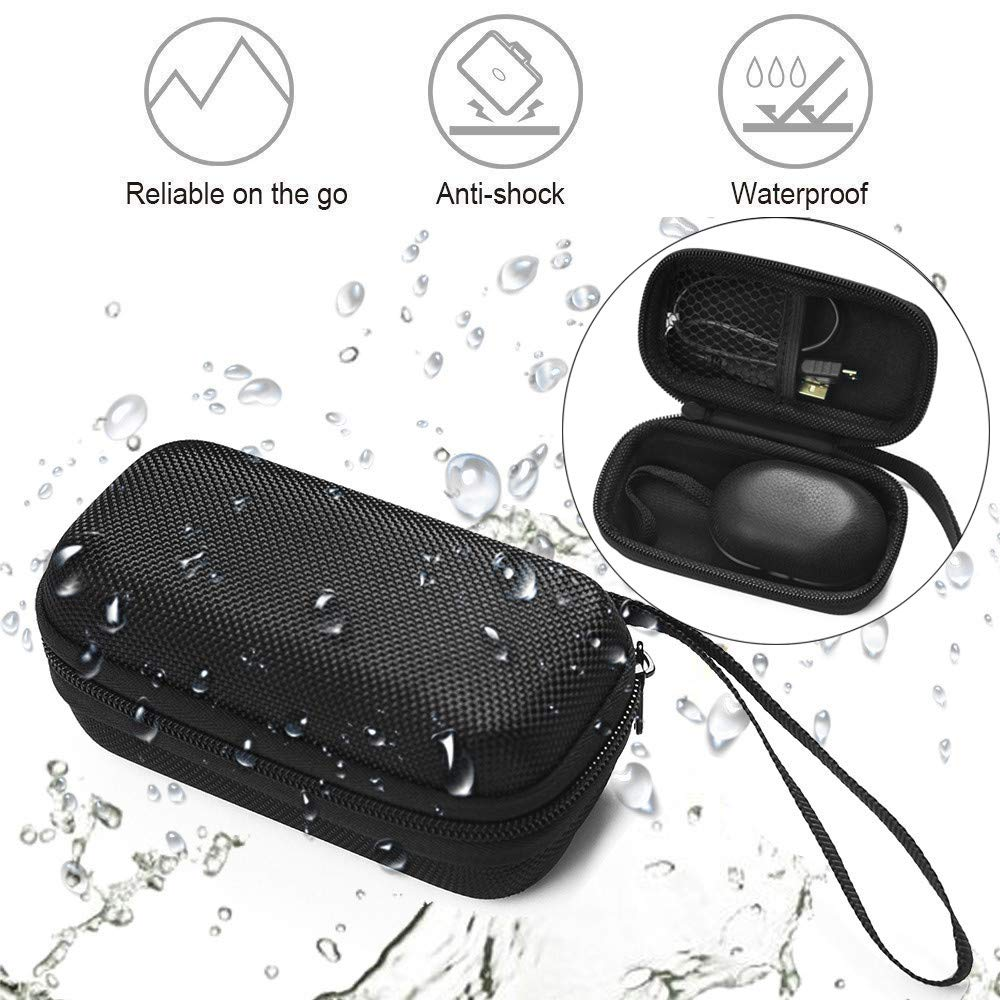 YRD TECH Portable Hard Carry Bag Box Protective Cover Hard Travel Case for Beoplay E8 Premium Truly Wireless BT Earphones