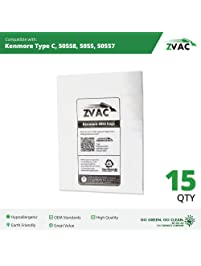 kenmore vacuum bags 50403. 15 kenmore ultra care vacuum bags generic part by zvac. replaces numbers 137- 50403 .