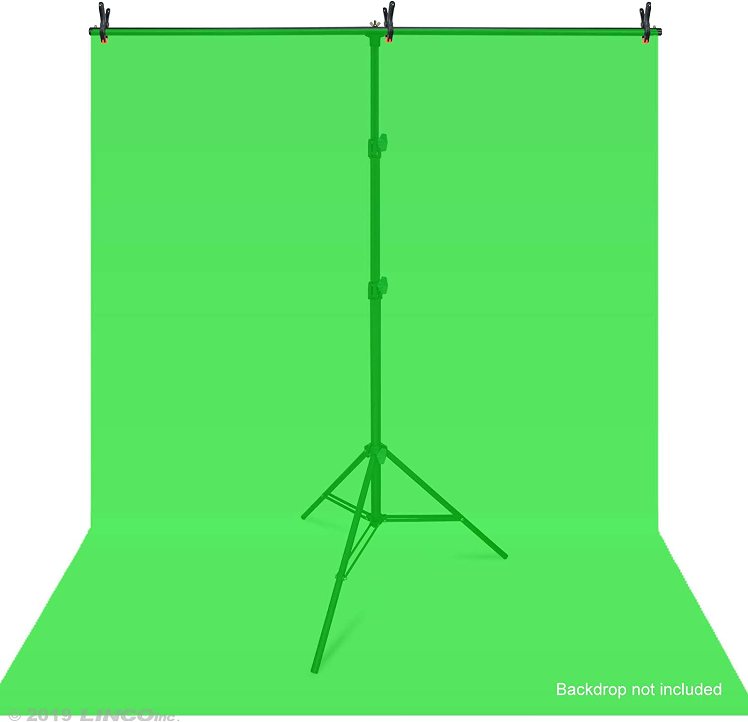 Linco Lincostore Photo Backdrop Stand Background Backdrops Support Kit T-Shape Zenith Series AM207