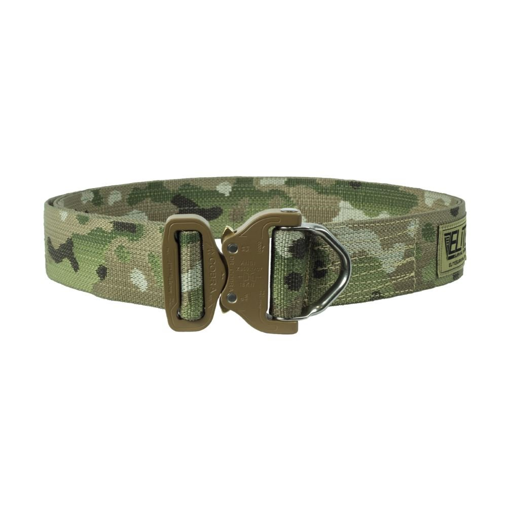 Elite Survival Systems CRB-B-SM Cobra Riggers Belt with D Ring Buckle