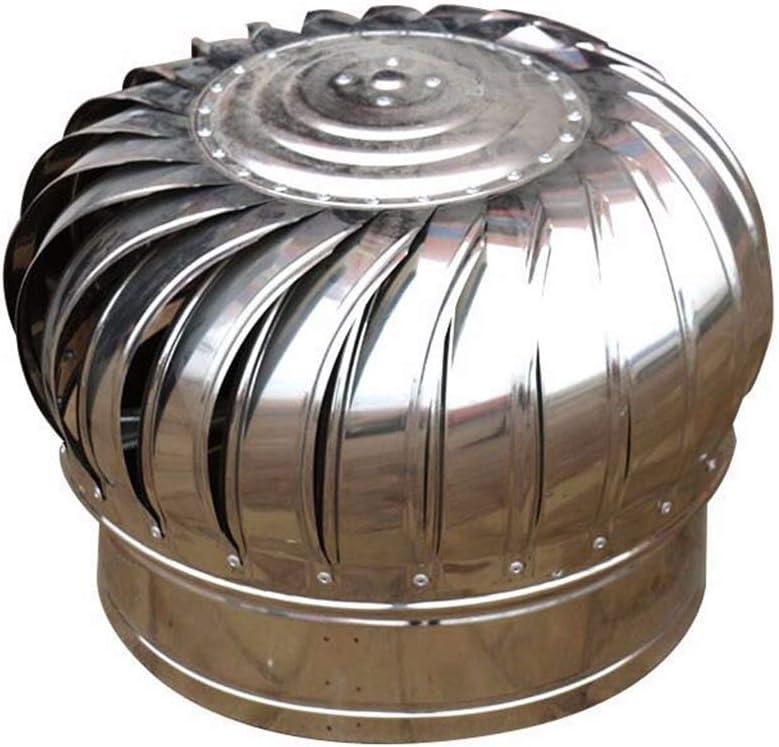 LTLCBB Extractor de Humo pivotantes, Aspirador Sombrero eolico para chimeneas Estufa de Acero Inoxidable, Base Cuadrada, Todas Las Dimensiones,110mm