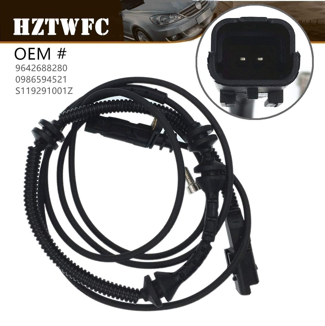 HZTWFC Capteur de vitesse de roue ABS arri/ère gauche et droite OEM # 9642688280 0986594521 S119291001Z