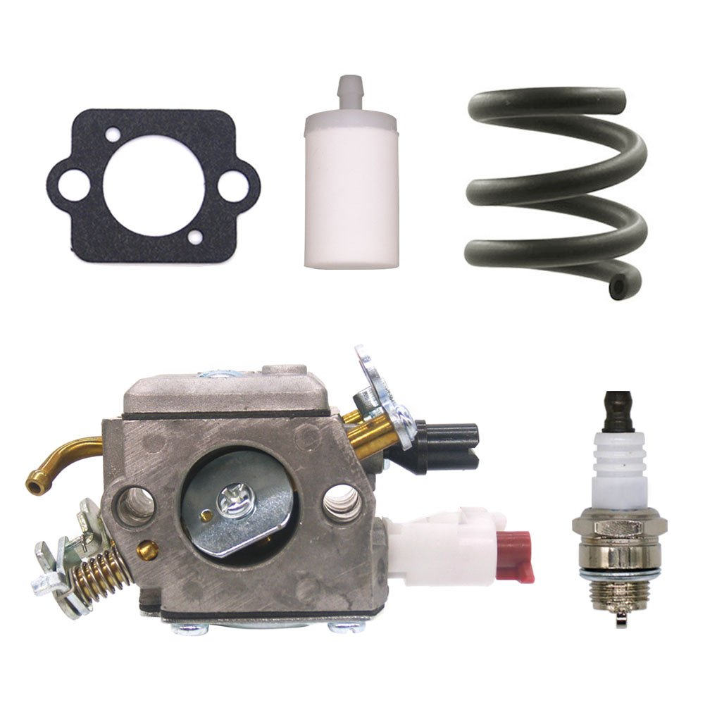 FitBest Carburetor Carb for Husqvarna 340 340E 345 346 346XP 350 351 353 Zama C3-EL42 Chainsaw Replaces 503283208 by FitBest