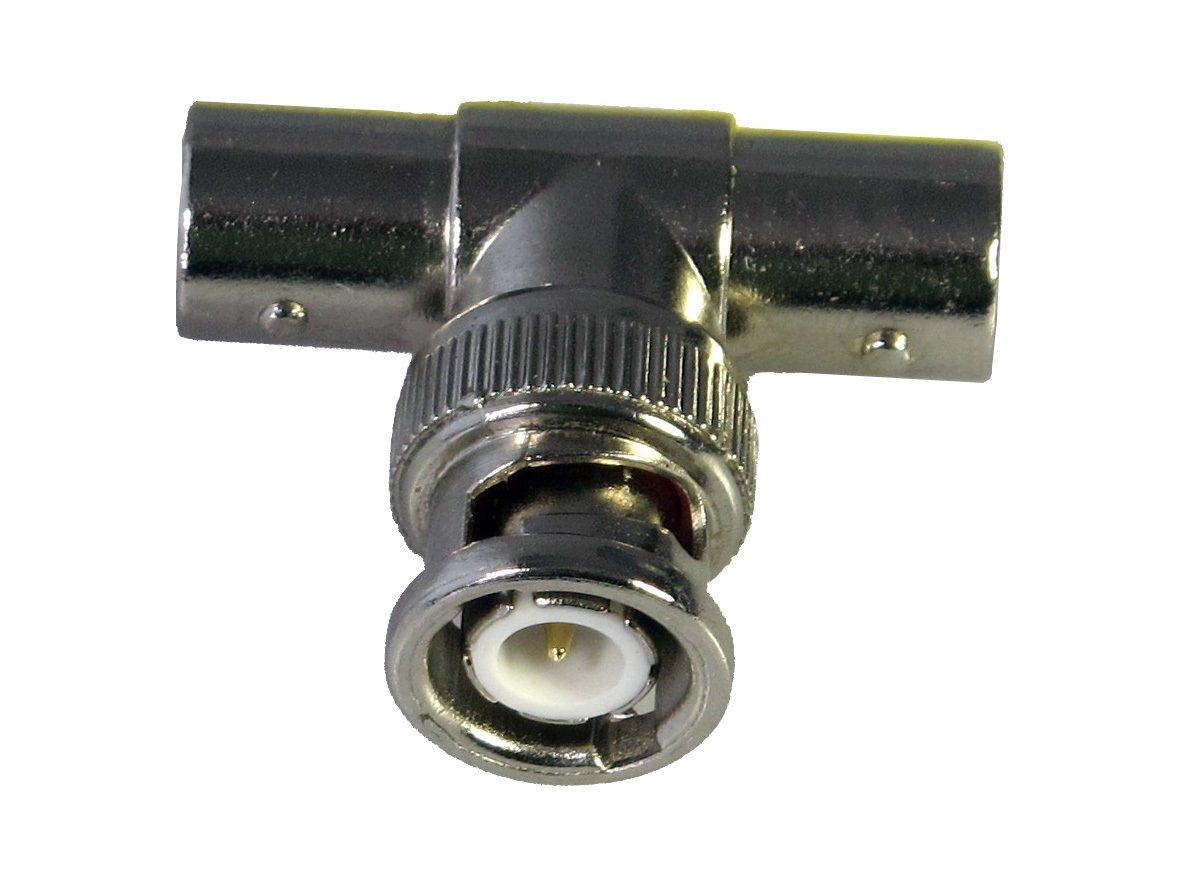 Adaptador BS/CEVN-2BK its, pieza en T de conector BNC macho/2x BNC hembra) ITS331