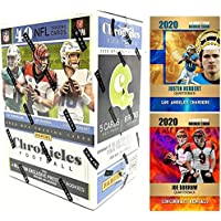$69 » 2020 Panini CHRONICLES Football Cards FACTORY SEALED Blaster Box with 40 Cards…