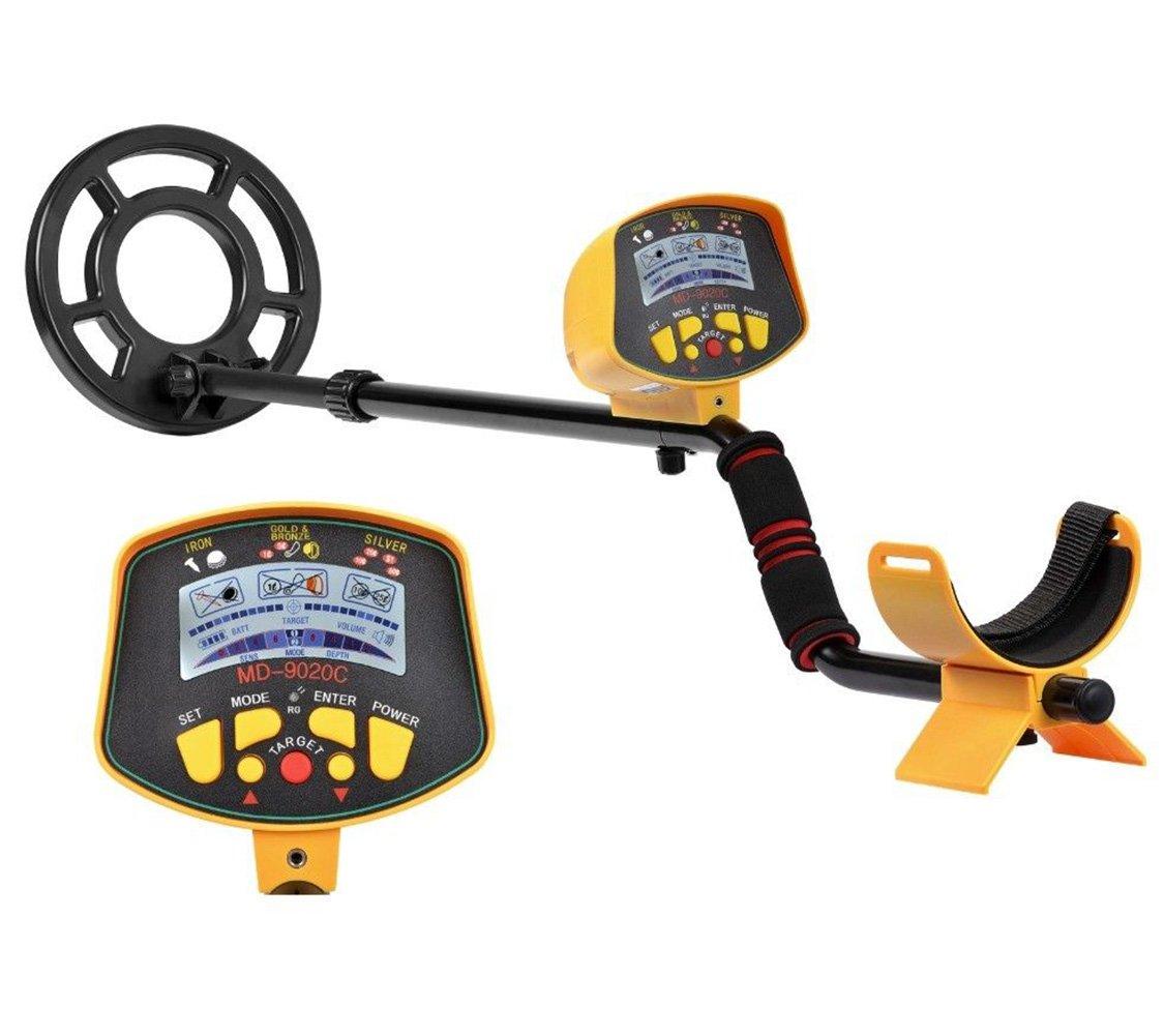 Pettstore MD9020C - Detector de metales subterráneo profesional (pantalla LCD, alta sensibilidad, para caza, tesoro): Amazon.es: Jardín