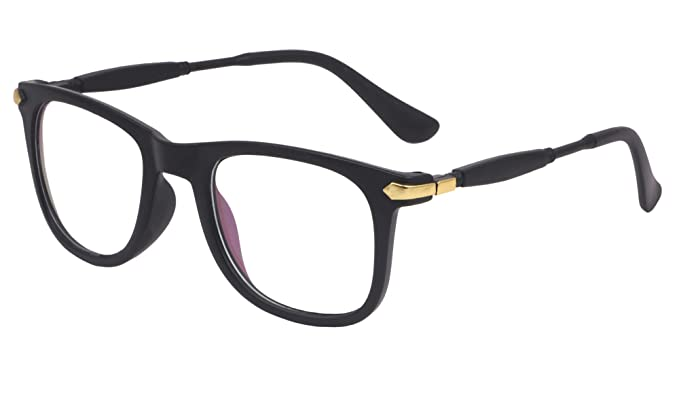 a362ef7b670 Image Unavailable. Image not available for. Colour  TheWhoop Full Rim Clear Wayfarer  Unisex Spectacle Frame ...