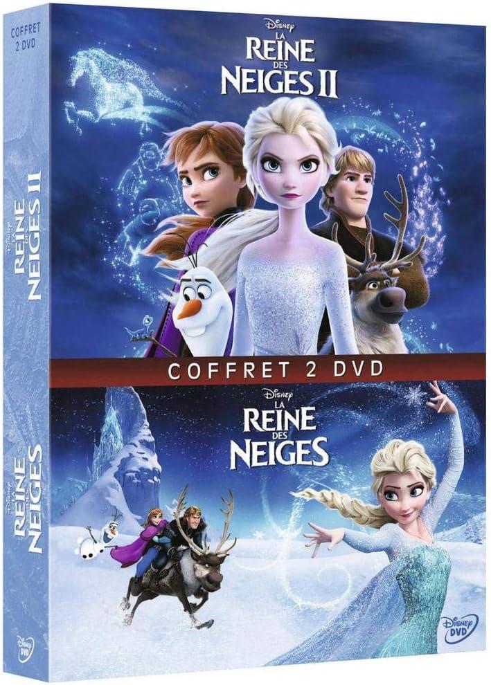Amazon Co Jp La Reine Des Neiges 1 2 Dvd Öルーレイ