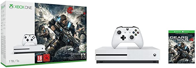 Xbox One S - Consola 1 TB + Gears Of War 4: Amazon.es: Videojuegos