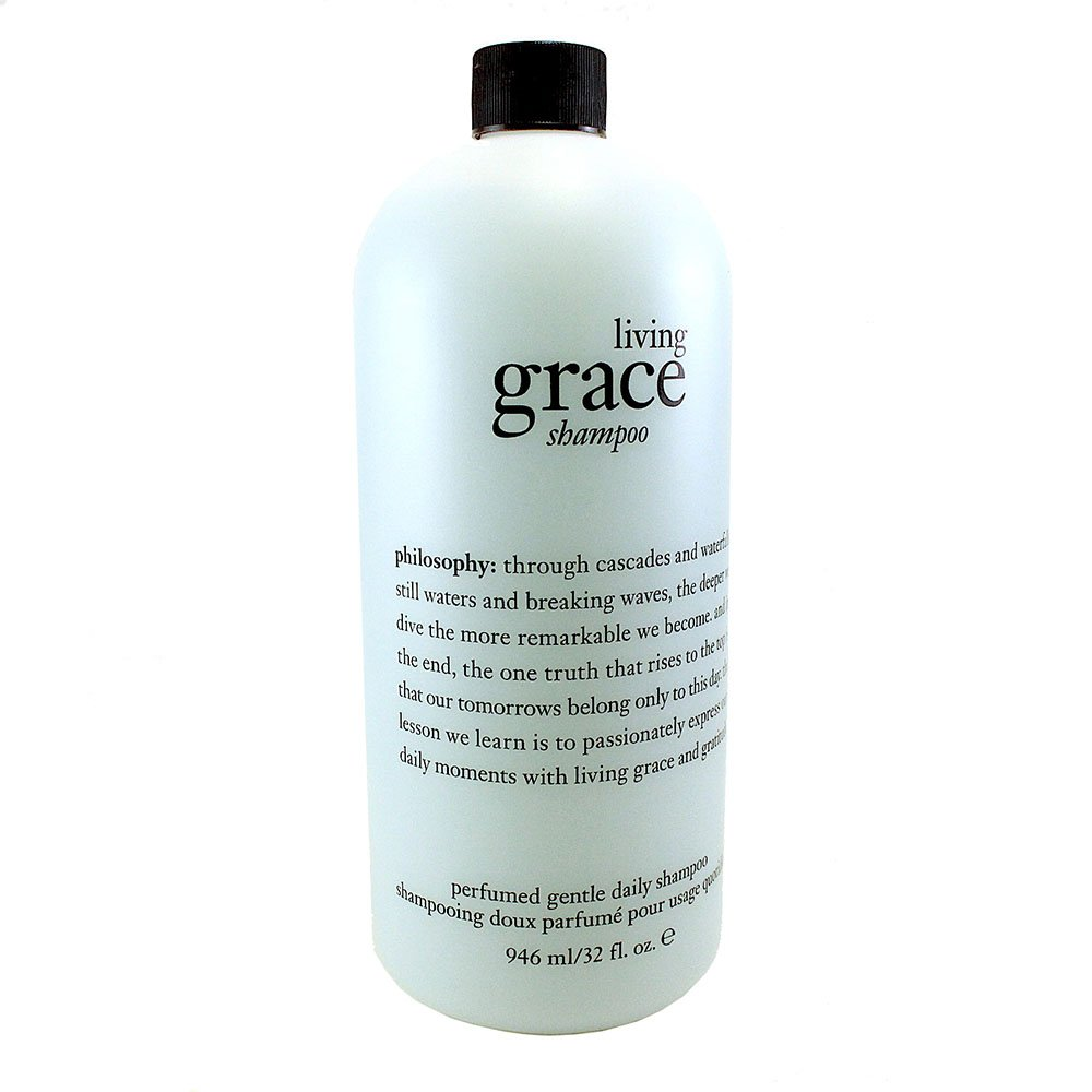 Philosophy Living Grace Perfumed Gentle Daily Shampoo for Women, 32 Ounce