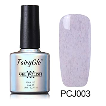 Amazon.com : FairyGlo Faux Fur Gel Polish UV LED Soak Off Gel Nail ...