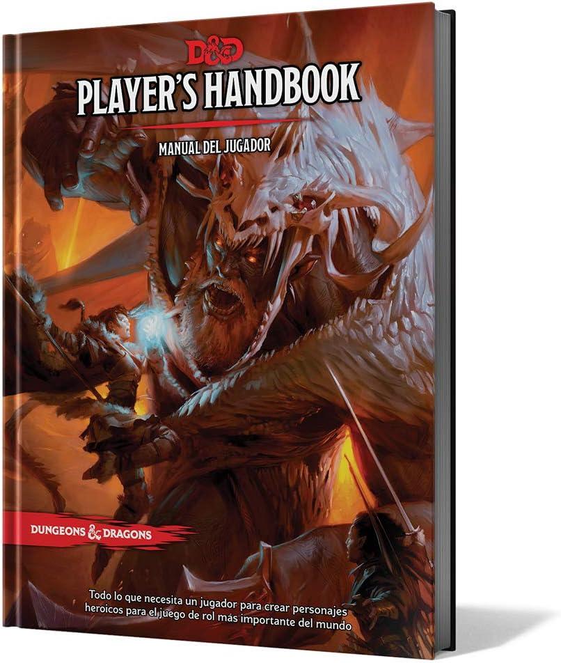 Dungeons & Dragons - Players Handbook: Manual del Jugador (Edge Entertainment EEWCDD01): AA.VV: Amazon.es: Juguetes y juegos