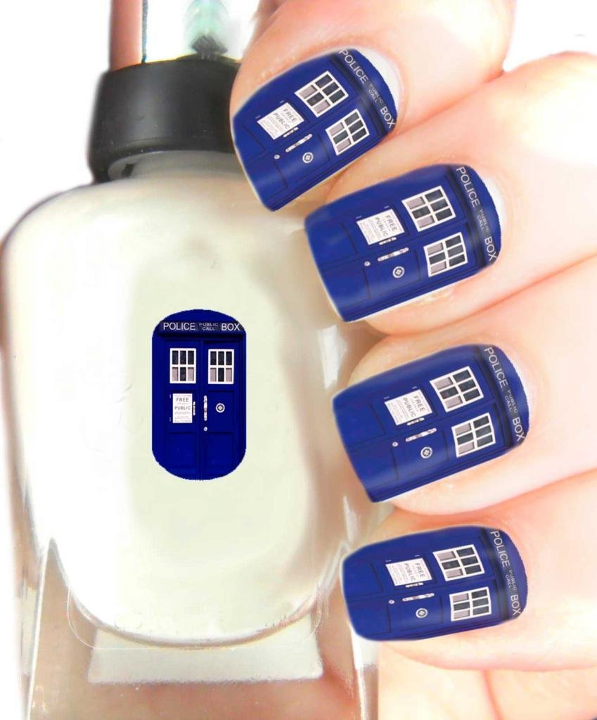 Amazon High Quality Nail Art For Every Occasion Dr Who Tardis