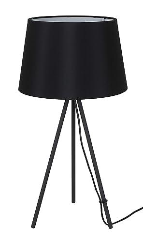 Solight Milano Tripode - Lámpara de mesa (56 cm, E27, acero, 60 W ...
