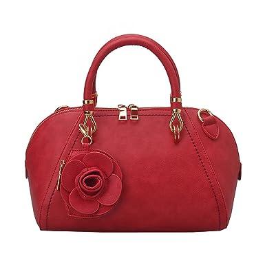 Arbeiten Sie Antike Blumen-Schulter-Kurier-Handtasche,3-OneSize Laidaye