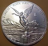 2015 2 oz Mexico Libertad Silver Brillia