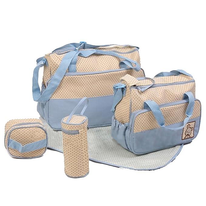 iPretty Set 5 kits Bolsa de Mama Para Bebe Biberon Bolso ...
