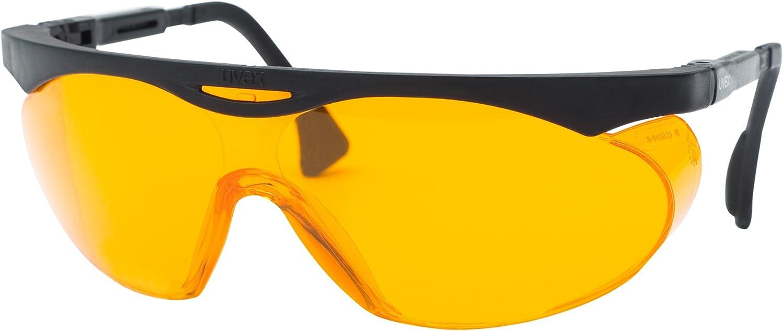 Uvex S1933X Skyper gafas de, negro, SCT-naranja Extreme Uv lente anti-empañamiento
