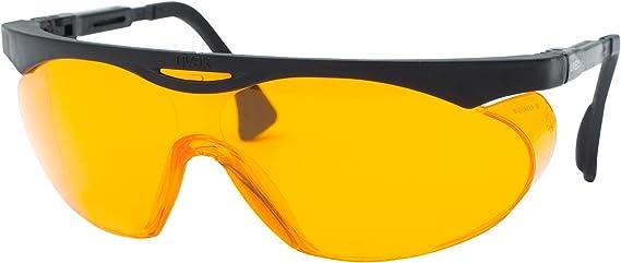 Uvex S1933X Skyper gafas de, negro, SCT-naranja Extreme Uv lente anti-empañamiento: Amazon.es: Bricolaje y herramientas