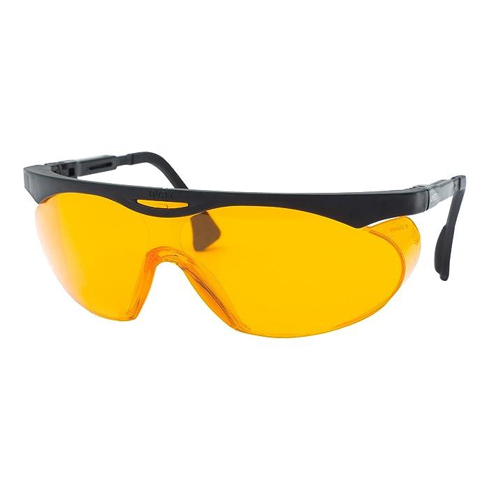 Uvex Skyper Blue Light Blocking Computer Glasses with SCT-Orange Lens, 3-Pack (S1933X)