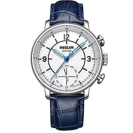 HKPLDE Smartwatch para Hombres/Fitness Tracker Podómetro ...