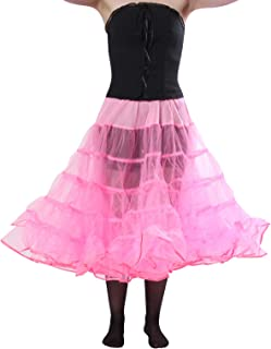 product image for Malco Modes Melonie Adult Crinoline Slip Organza Binding Adjustable