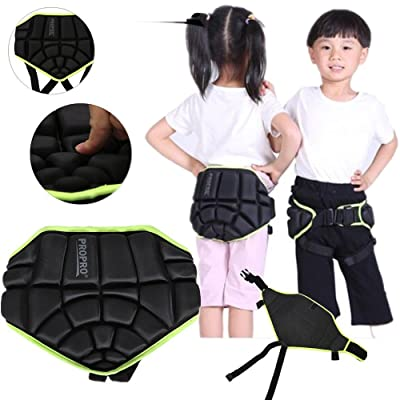 Tbest Children Sports Butt Pad Ski Snow Boarding Skate Hip Protective Padded Shorts: Clothing