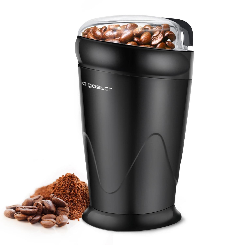 Aigostar Breath CFR Molinillo compacto de café especias semillas o granos Potencia