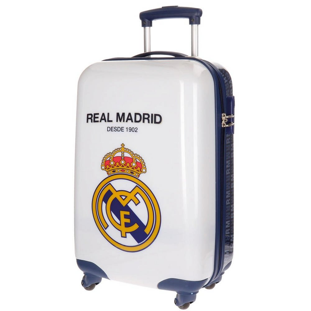 Real Madrid Rm 1902 Kindergepäck, 55 cm, 33 liters, Weiß (Blanco)