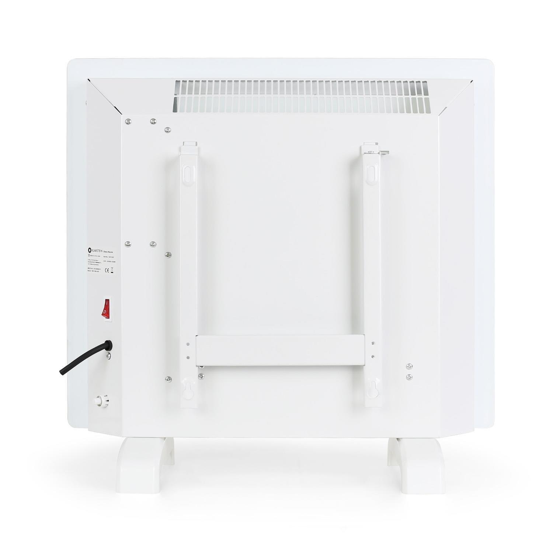 Klarstein HT006GL • Radiador eléctrico • Calefactor • Convector • 1000 W • Vidrio de seguridad • Panel táctil LED • Varios modos de calor • Temporizador ...