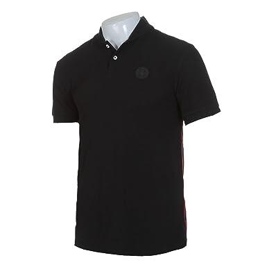 Nike FC Barcelona - Polo para hombre, color negro, color negro - negro, tamaño S: Amazon.es: Deportes y aire libre