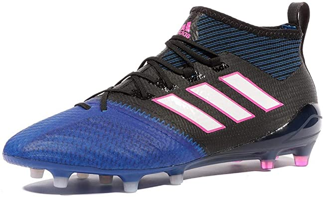 Volcán Molde Vegetales  Amazon.com | adidas - Ace 171 Primeknit FG - BB4315 - Color: Black-Blue -  Size: 7 | Soccer
