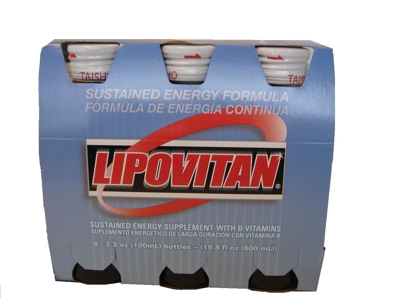 Doce Pack de lipovitan con vitaminas del grupo B Bebida de ...