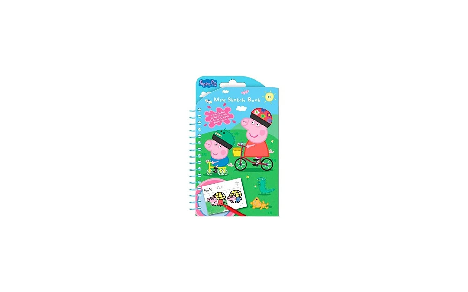 Anker - Cuaderno para Colorear Peppa Pig: Amazon.es ...
