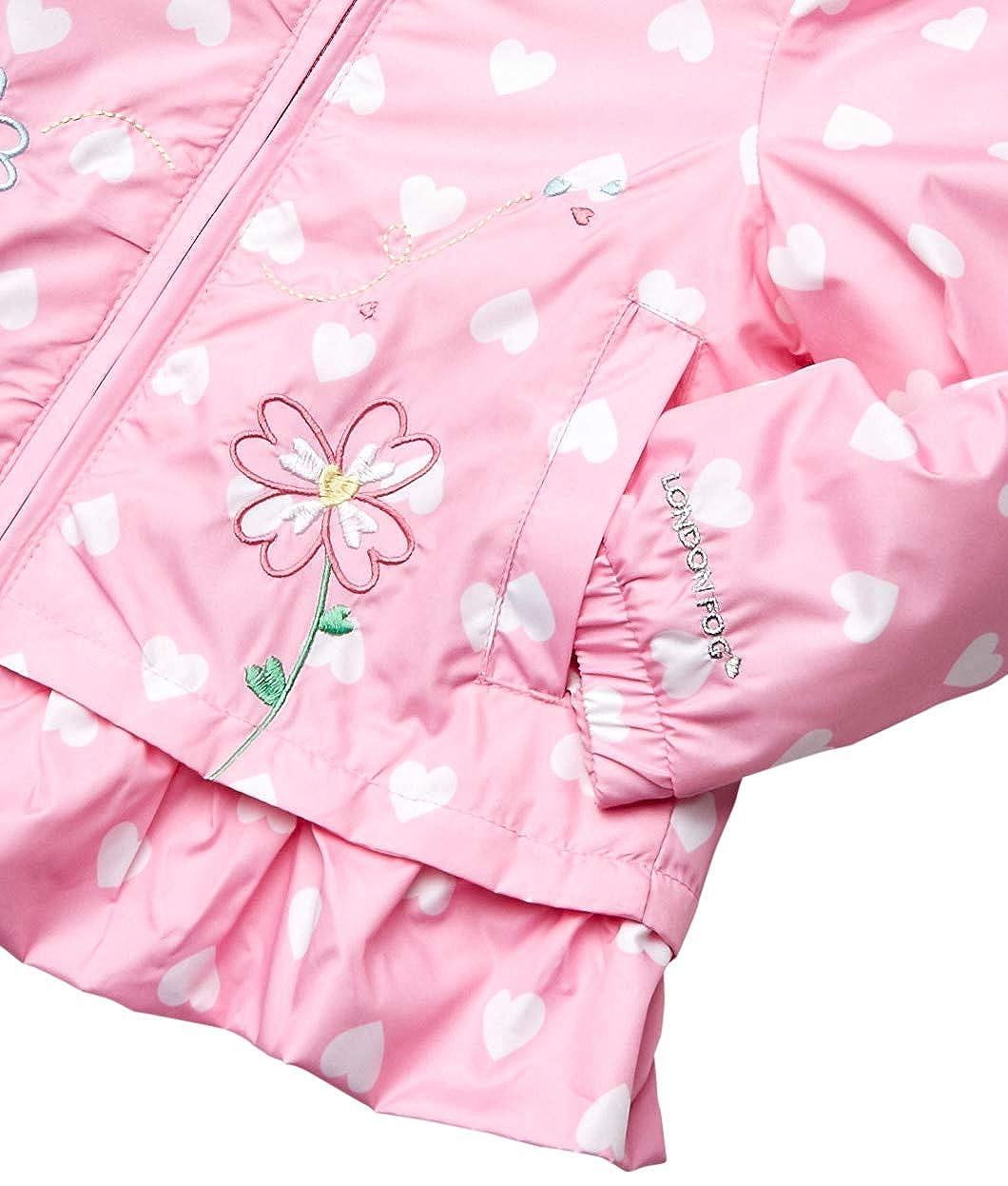 London Fog Girls Midweight Fleece Lined Jacket