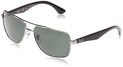 Amazon.com: Ray Ban RB3483 - Gafas de sol (2.362 in), 60 mm ...