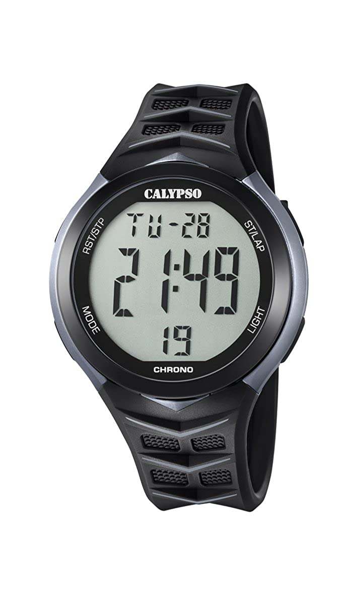 Calypso Reloj Digital para Hombre de Cuarzo con Correa en Plástico K5730/1