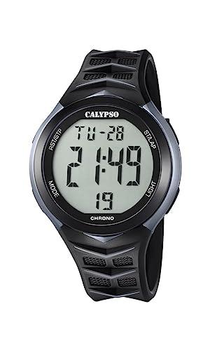 Calypso Reloj Digital para Hombre de Cuarzo con Correa en Plástico K5730/1: Calypso: Amazon.es: Relojes