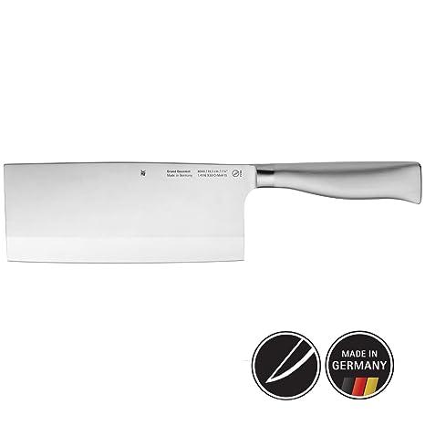 Amazon.com: WMF - Cuchillo para chef (acero inoxidable, 12.4 ...