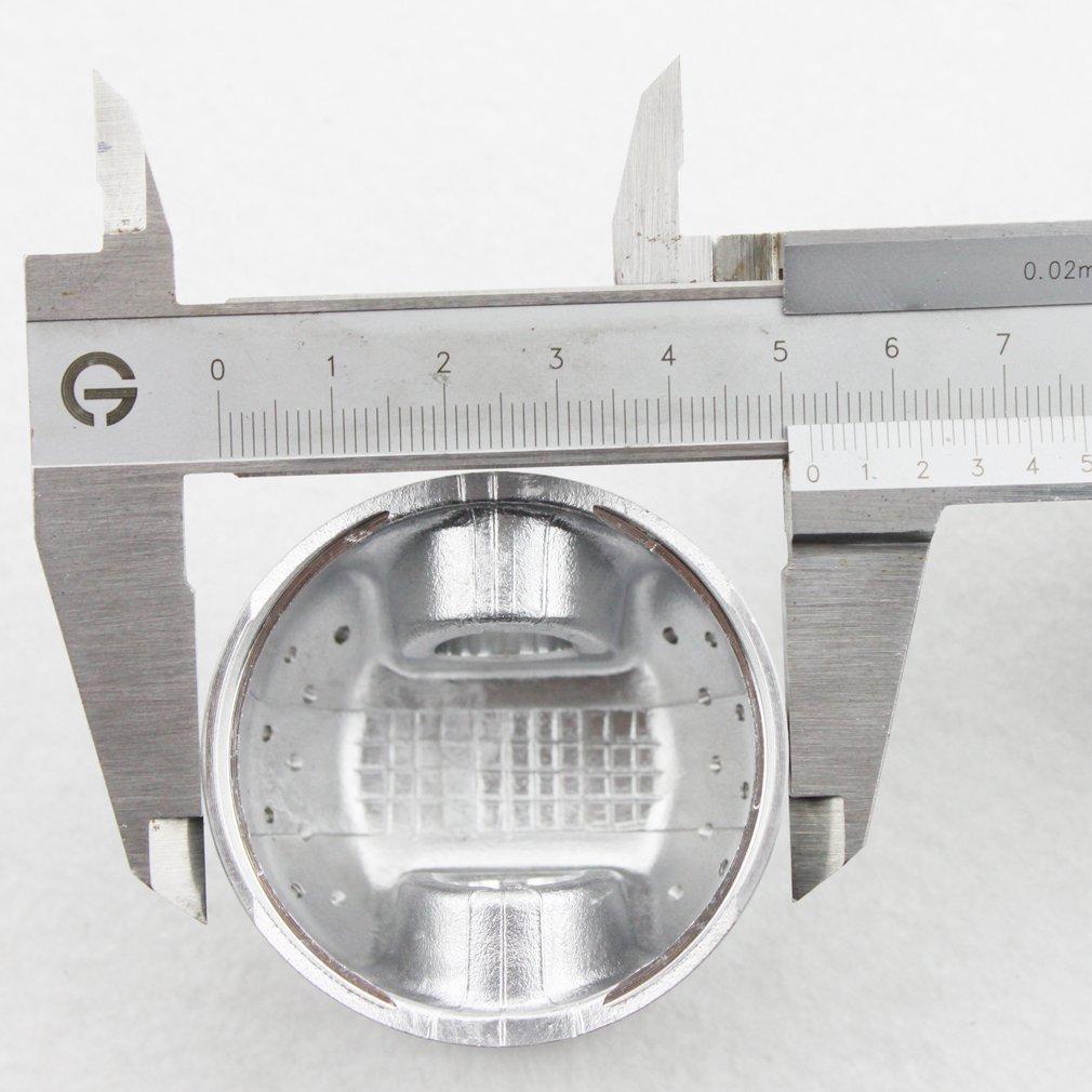 GOOFIT 52.4mm Pistons Motocross Kit Cylindre Le Piston Moto Cross Aller kart ATV