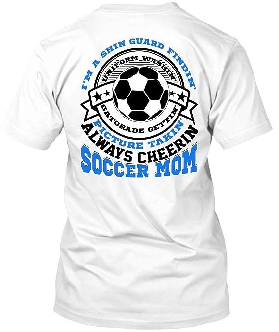 Amazon.com: Tee Bon Always Cheering Soccer Mom T Shirt, I Love Soccer T Shirt: Clothing