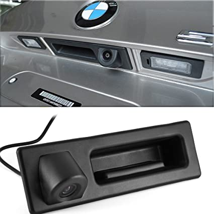 Rear View Trunk Boot handle  Parking Camera For BMW F10 F11 F25 F30  5 3 x3