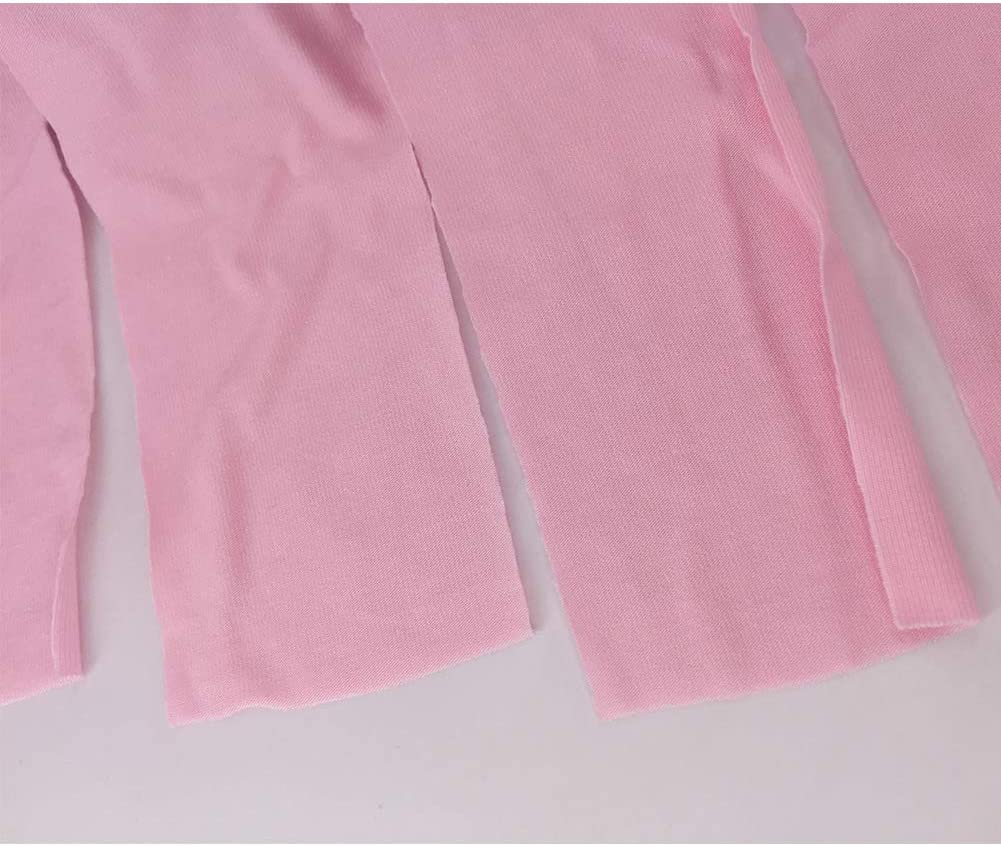Light-colored Cloth Tafeiya 2xCat Professional Recovery Suit for Abdominal Wounds or Skin Diseases Easy to Find Infection Sites S, Pink