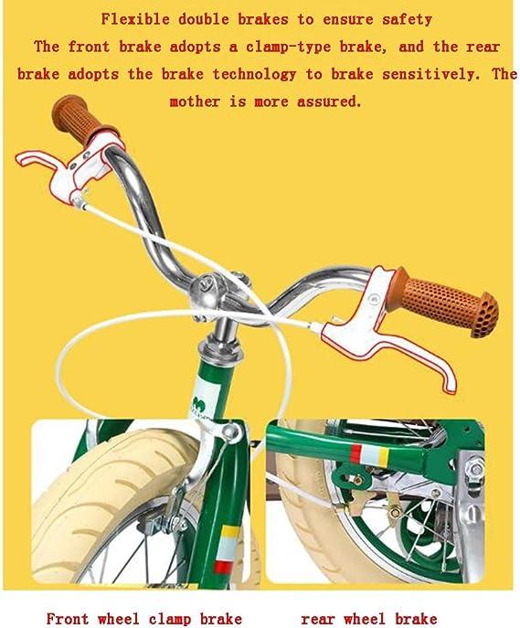 YUMEIGE Bicicletas 14 Bicicleta Infantil de 16 Pulgadas, Bicicleta ...