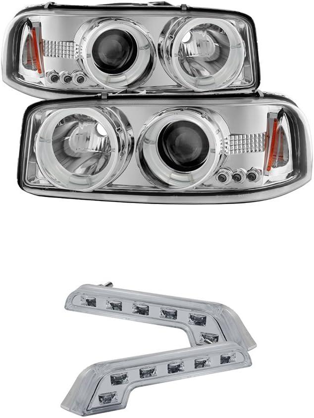 LED Headlight Kit Protekz High 9005 6000K CREE for 2001-2006 GMC YUKON DENALI