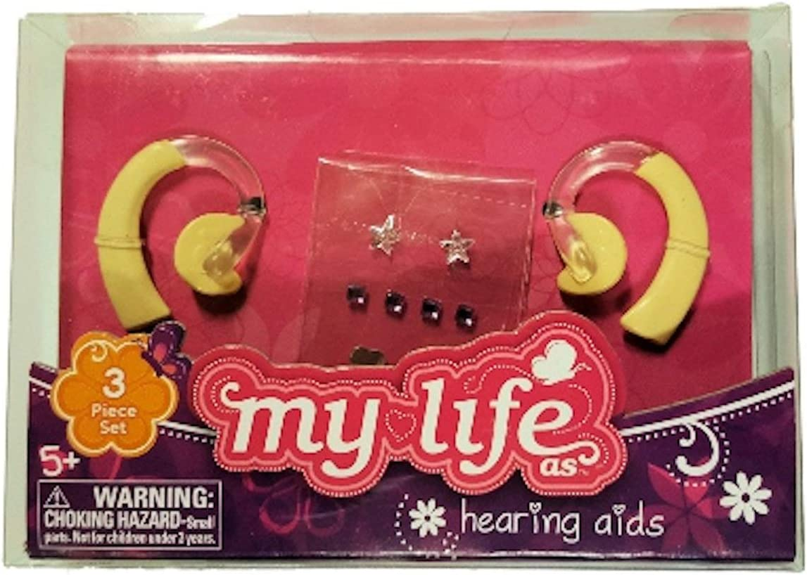Doll Not Included myLife Brand Products My Life As Hearing Aids