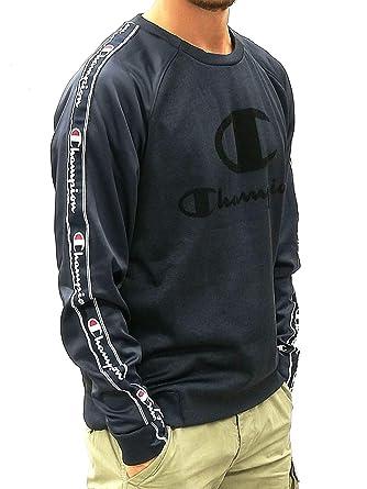faire les courses pour sélectionner pour authentique outlet Champion Sweat Homme Ras du Cou avec Bande - - XL: MainApps ...